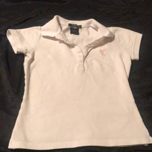 Women's Playboy baby doll polo shirt size small